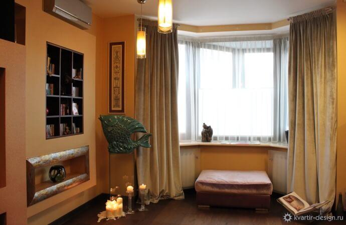 Дизайн 3-х комнатной квартиры 75 кв.м интерьера